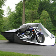 Shelter-It Fabric Motorcycle Fortress Cover - Gray