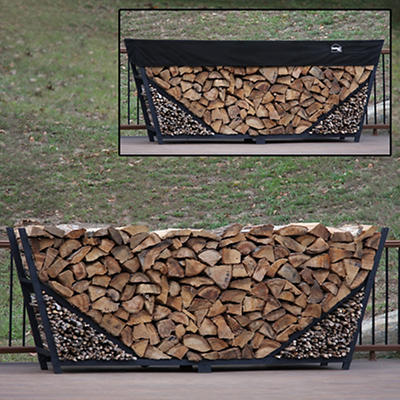 Shelter-It 10' Slanted Firewood Storage Crib
