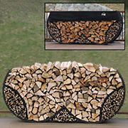 Shelter-It 8' Double Round Firewood Storage Crib