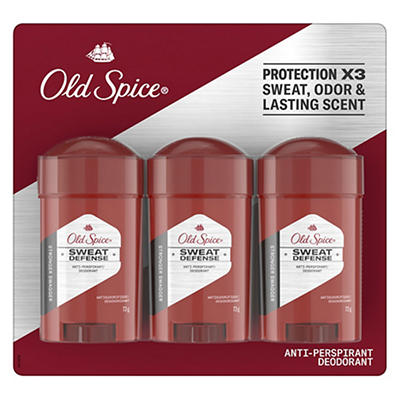 Old Spice Hardest Working Collection Sweat Defense Anti-Perspirant & D