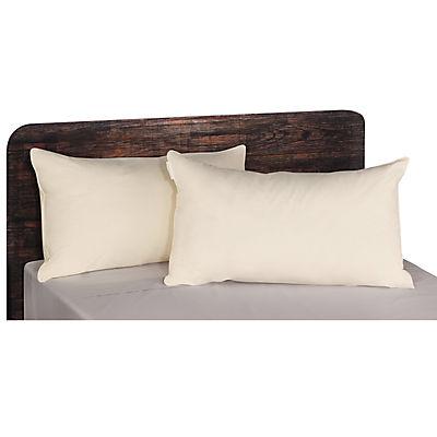 AllerEase Organic Cotton-Cover Pillow, 2 pk.