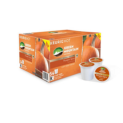 Green Mountain Pumpkin Spice K-Cup Pods, 54 ct.