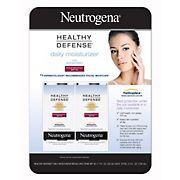 Neutrogena Healthy Defense Daily Moisturizer with Broad Spectrum SPF 50 Sunscreen, 2 pk./1.7 fl. oz