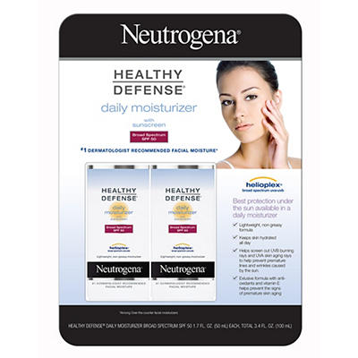 Neutrogena Healthy Defense Daily Moisturizer with Broad Spectrum SPF 5