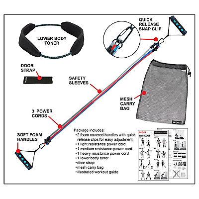 Savage Total Body Toning Kit