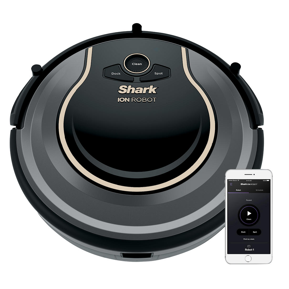 Shark ION ROBOT 755 Connected Robotic Vacuum