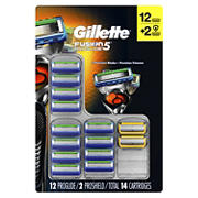Gillette Fusion5 ProGlide Men's Razor Blades, 12 ct. with Bonus Fusion5 ProShield Men's Razor Blades, 2 ct.