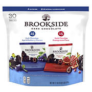 Brookside Dark Chocolate Variety Pack, 30 pk./0.7 oz.