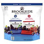 Brookside Dark Chocolate Variety Pack, 30 pk./0.7 oz.