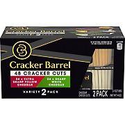 Cracker Barrel Cracker Cuts Cheese Variety Pack, 2 pk./7 oz.