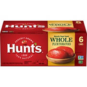 Hunt's Whole Peeled Plum Tomatoes, 6 pk./28 oz.