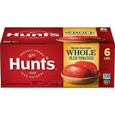 Hunt's Whole Peeled Plum Tomatoes, 6 pk./28 oz.