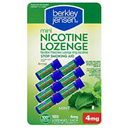 Berkley Jensen 4mg Mini Mint Nicotine Lozenge, 189 ct.