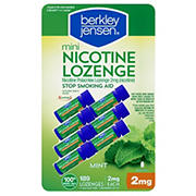 Berkley Jensen 2mg Mini Mint Nicotine Lozenge, 189 ct.