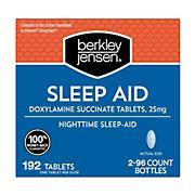 Berkley Jensen Sleep Aid, 192 ct.