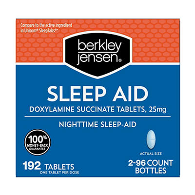 Berkley Jensen Sleep Aid, 192 ct.