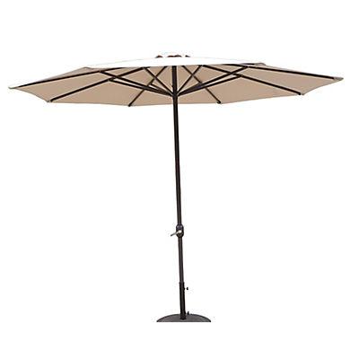Berkley Jensen 11' Aluminum Umbrella - Sand