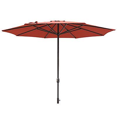 Berkley Jensen 11' Aluminum Umbrella - Red
