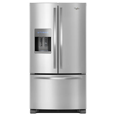 Whirlpool 24.7-Cu.-Ft. French Door Refrigerator - Stainless Steel