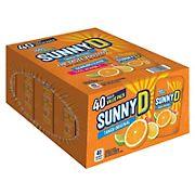 SunnyD Tangy Original Citrus Punch Value Pack, 40 ct./ 6 oz.