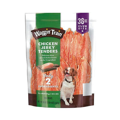 Purina Waggin' Train Chicken Jerky Tenders, 36 oz.