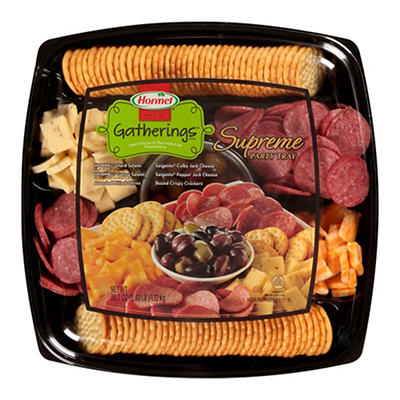 Hormel Gatherings Supreme Party Tray, 39.7 oz.