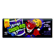 Kool-Aid Ghoul-Aid Jammers Scary Berry, 40 ct
