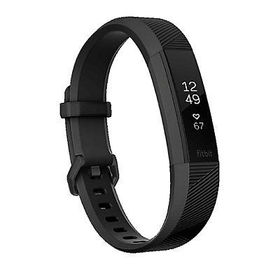 Fitbit Large Alta HR Bundle with 2 Bonus Bands - Black/Pink/Gray
