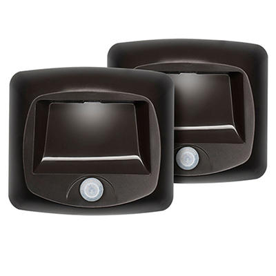 Mr. Beams Motion-Activated Deck Lights, 2 pk. - Brown