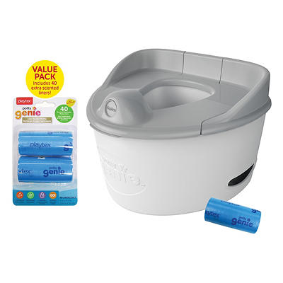 Playtex Potty Genie 3-in-1 Potty Trainer with 60 Liners