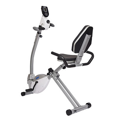 Stamina Recumbent Exercise Bike with Upper-Body Exerciser
