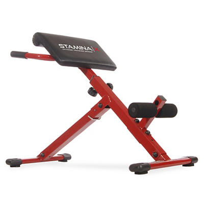 Stamina X Hyper Weight Bench - Black/Red