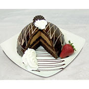 "Wellsley Farms 7"" Chocolate Truffle Bomb Cake, 48 oz."