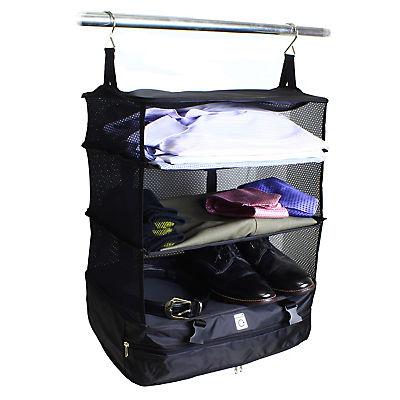 Grand Fusion Housewares Stow-N-Go Hanging Travel Organizer