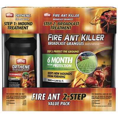 Ortho Fire Ant 2-Step Value Pack