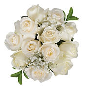 Rose Bouquets, 96 Stems - White