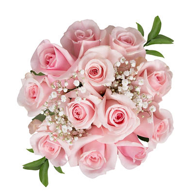 Rose Bouquets, 96 Stems - Pink
