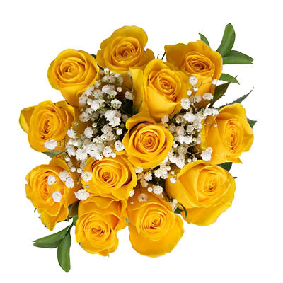 Rose Bouquets, 96 Stems - Yellow
