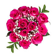 Rose Bouquets, 96 Stems - Hot Pink