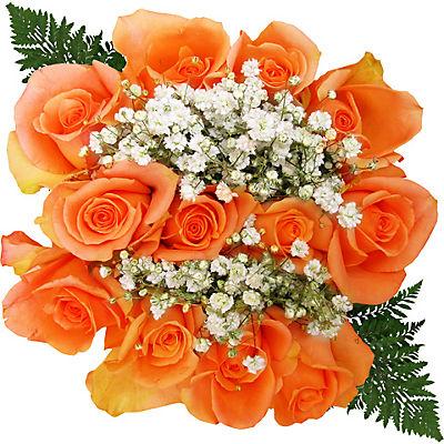 Rose Bouquets, 120 Stems - Orange
