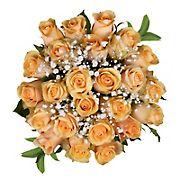 Rose Bouquets, 120 Stems - Peach