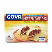 Goya Beef Empanadas, 10 ct.