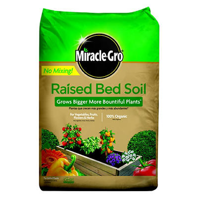 Miracle-Gro Raised Bed Soil, 1 cu. ft.