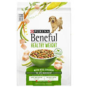 Purina Beneful Healthy Weight with Real Chicken Adult Dry Dog Food, 15.5 lbs.
