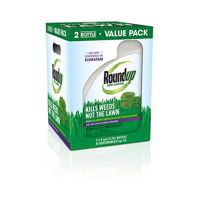 Roundup for Lawns for Southern Grasses with Wand, 2 pk./1 gal.