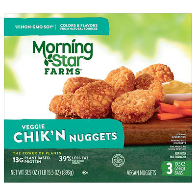 MorningStar Farms Chik'n Nuggets, 3 pk./10.5 oz.