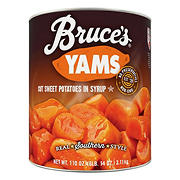 Bruce's Yams Cut Sweet Potatoes in Syrup, 112 oz.