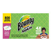 Bounty Quilted Napkins, 800 ct. - Print