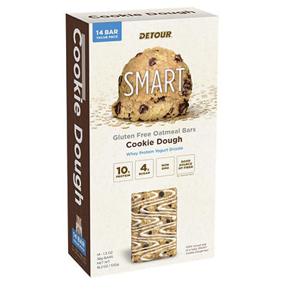 Detour Cookie Dough Smart Bar, 14 ct./1.3 oz.