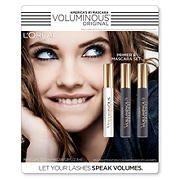 L'Oreal Paris Voluminous Original Primer and Mascara Set, 3 ct.